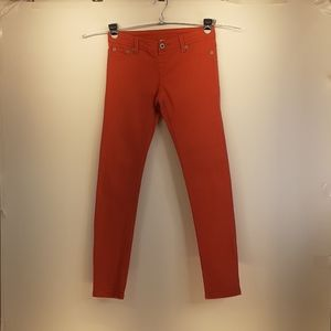 Blue Asphalt Apricot Colored Jeggings Size Small